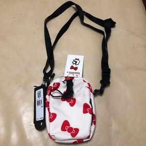 HELLO KITTY x CONVERSE Crossbody Phone Pouch Bag